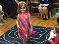 Last day of preschool for Laia