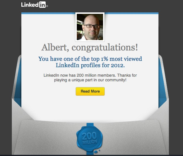 Albert Balcells Top 1% LinkedIn